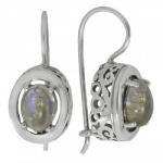 Серьги Deno из серебра с лабрадором MVE1575LB