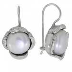 Серьги Deno из серебра с жемчугом MVE1584PL