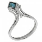 Кольцо Deno из серебра с бирюзой MVR1620TQ