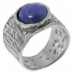Кольцо Deno из серебра с кианитом 01R2646KT
