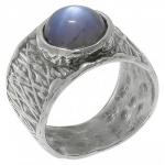 Кольцо Deno из серебра с лабрадором 01R2646LB