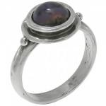 Кольцо Deno из серебра с агатом 01R528AG