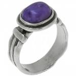 Кольцо Deno из серебра с чароитом 01R422CHRT