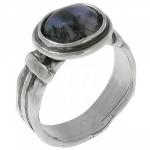 Кольцо Deno из серебра с агатом 01R422AG