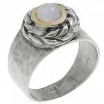 Кольцо Deno из серебра с лунным камнем MVR1652GMS