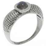 Кольцо Deno из серебра с лабрадором MVR1653LB