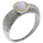 Кольцо Deno из серебра с лунным камнем MVR1653GMS