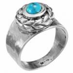 Кольцо Deno из серебра с бирюзой MVR1652TQ
