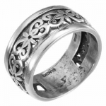 Кольцо Deno из серебра MVR1554
