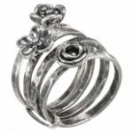 Кольцо Deno из серебра MVR1657