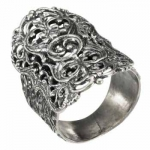 Кольцо Deno из серебра 01R2653