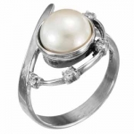 Кольцо Deno из серебра с жемчугом MVR1630PL