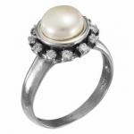 Кольцо Deno из серебра с жемчугом MVR1655PL