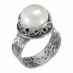 Кольцо Deno из серебра с жемчугом 01R2822PL