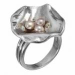 Кольцо Deno из серебра с жемчугом 01R2806PL