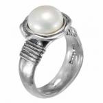 Кольцо Deno из серебра с жемчугом 01R2328PL