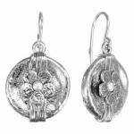 Серьги Deno из серебра с жемчугом 01E1593PL