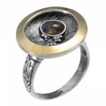 Кольцо Deno из серебра с лабрадором MVR1595GLB