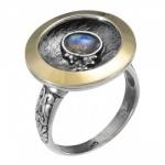 Кольцо Deno из серебра с лунным камнем MVR1595MS