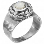 Кольцо Deno из серебра с лунным камнем MVR1652MS