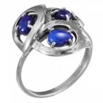 Кольцо Deno из серебра с лазуритом MVR1629LZ