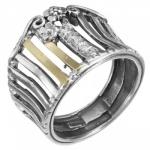 Кольцо Deno из серебра MVR1585GCZ