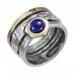 Кольцо Deno из серебра с лазуритом MVR1222GLZ