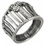 Кольцо Deno из серебра MVR1585CZ