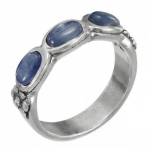 Кольцо Deno из серебра с кианитом 01R2770KT