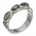 Кольцо Deno из серебра с лабрадором 01R2770LB