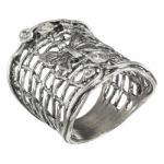 Кольцо Deno из серебра 01R2813CZ