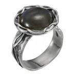 Кольцо Deno из серебра с лабрадором 01R2771LB