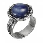 Кольцо Deno из серебра с кианитом 01R2771KT