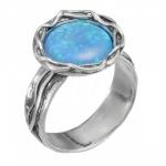 Кольцо Deno из серебра с опалом 01R2771OP