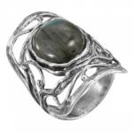 Кольцо Deno из серебра с лабрадором 01R2464LB