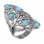 Кольцо Deno из серебра с опалом 01R2785OP