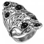 Кольцо Deno из серебра с ониксом 01R2785ON