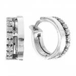Серьги Deno из серебра MVE1656CZ