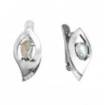 Серьги Deno из серебра с лабрадором MVE1629LB
