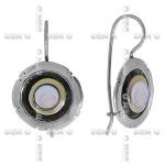 Серьги Deno из серебра с лунным камнеим MVE1187GMS