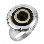 Кольцо Deno из серебра с ониксом MVR1187GON