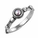 Кольцо Deno из серебра с жемчугом 01R598/1PL