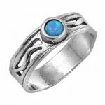 Кольцо Deno из серебра с опалом 01R1384OP