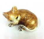 Котенок серебро ST460