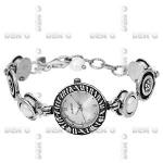 Часы из серебра Deno 01W607PL