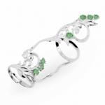 Серебряное кольцо Узор Утум K171-1