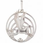 Серебряная подвеска-оберег Узор Утум ПO023