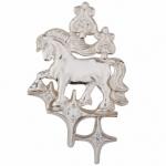Серебряная подвеска-оберег Узор Утум ПO038