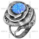 Кольцо серебряное с опалом SAR10339OP