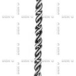 Цепь, серебро CH261